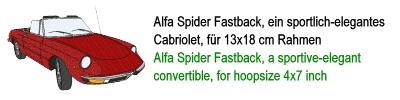 Alfa Spider Fastback